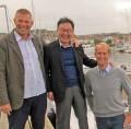Mr SK Jeong, President & CEO Hyundai SeasAll besöker Diesel Power AB