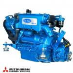 Bild på blå Solé Diesel Mini-29 motor