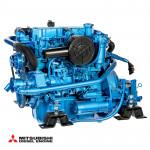 Bild på blå Solé Diesel Mini-62 motor
