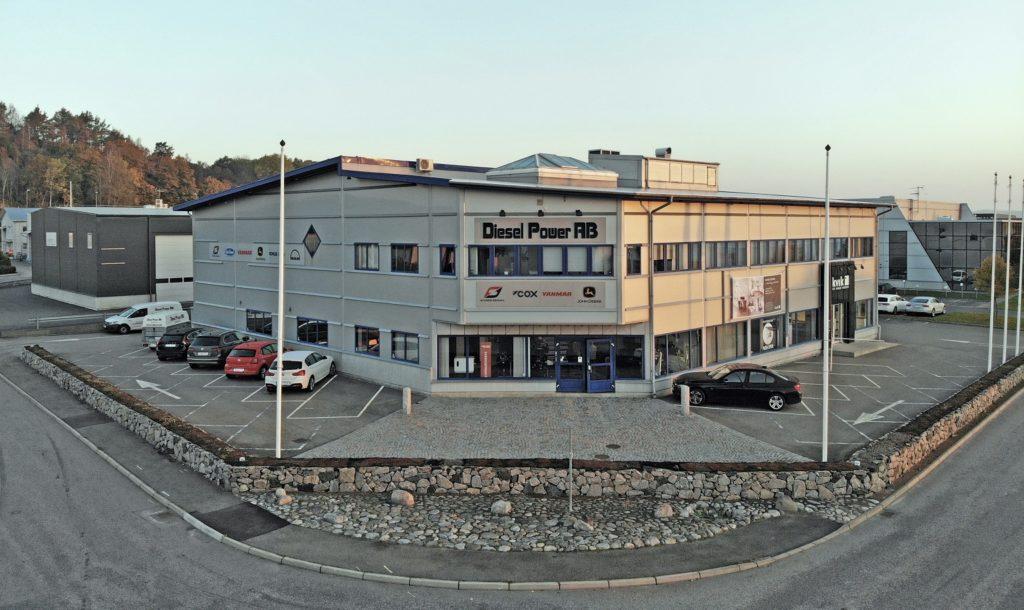 Diesel Power's office on Kungsparksvägen in Kungsbacka.
