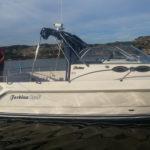 Forbina 850F med ny Hyundai SeasAll S250S motor och Mercury Bravo 3 drev