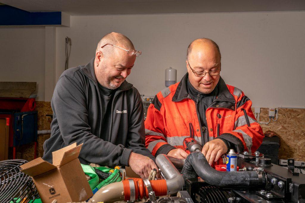 Servicetekniker från Diesel Power