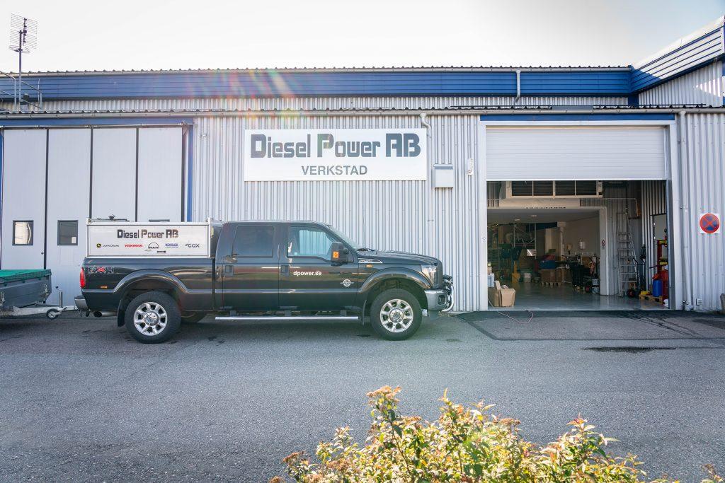 Diesel powers verkstad