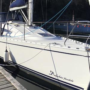 Delphia 33 segelbåt