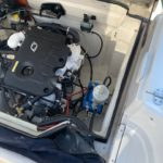 Motorutrymme Hyundai SeasAll motor