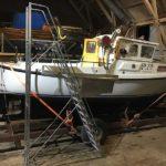 Pollux 24 fiskebåt med ny Solé Dieselmotor