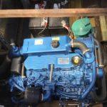 Solé dieselmotor installerad
