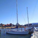 Segelbåt Kaskelot med ny motor från Diesel Power