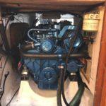 Solé Diesel Mini-33 installerad i motorutrymmet