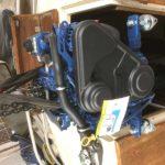 Marinmotor Solé Diesel Mini-17 installeras