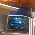 Solé Diesel Mini-44 installerad i en Nimbus-24