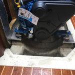 Solé Diesel Mini-29 installation i en Scanmar 33