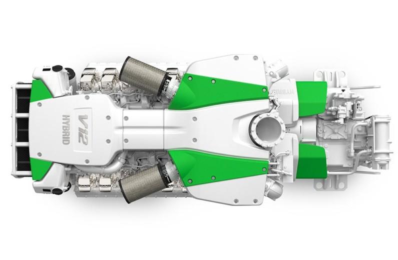 MAN hybridmotor